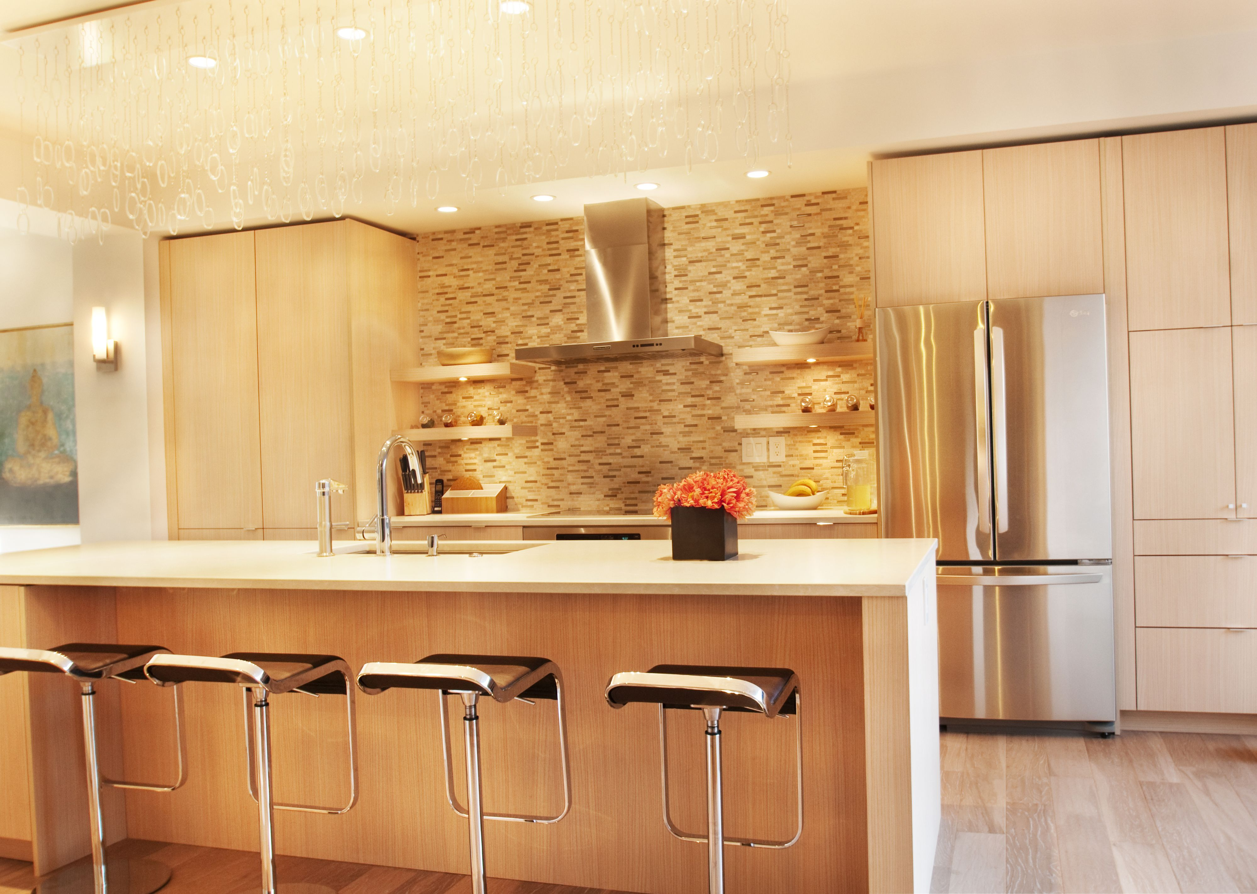 kitchen - john's creek, ga residence. interior design by michael