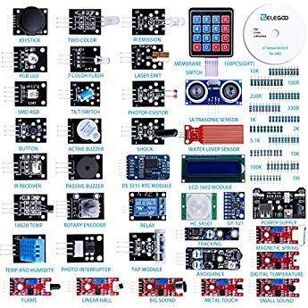 Elegoo Actualizado 37 En 1 Kit De Módulos De Sensores Con
