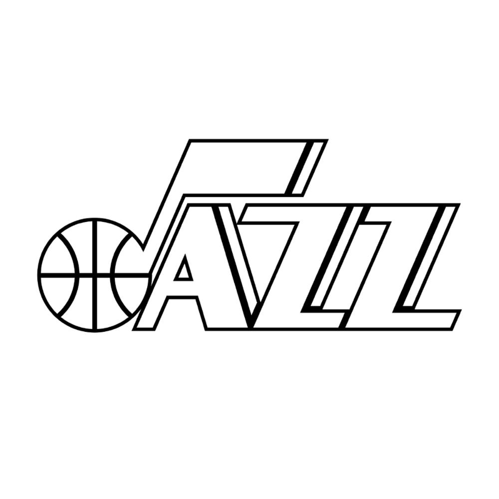 Coloring Book Utah Jazz Utah Jazz Tech Company Logos Jazz