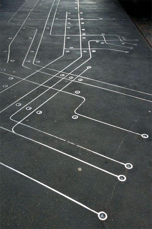 Sidewalk Subway Map Nyc.Subway Map Floating On A Nyc Sidewalk By Francoise Schien Public