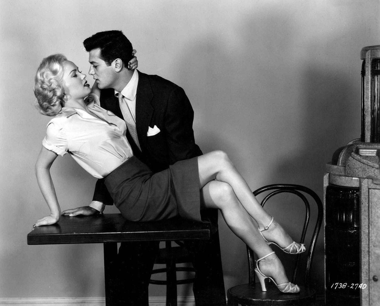 The All American 1953 Mamie Van Doren & Tony Curtis