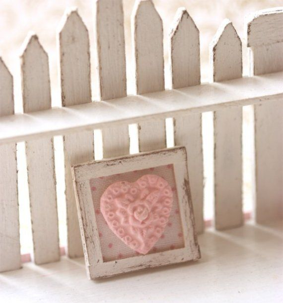 Dollhouse Miniature 1/12th Scale Pink by miniaturepatisserie