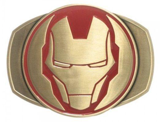 Amazon.com: Iron Man Antique Brass Belt Buckle: Clothing