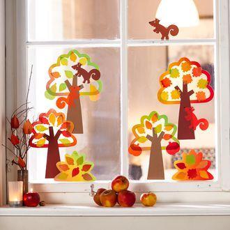 Sachenmacher Fenster-Herbstwald JAKO-O » JAKO-O