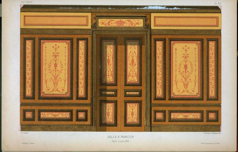 Louis XVI Salle a Manger 18th century style Pinterest - salle a manger louis