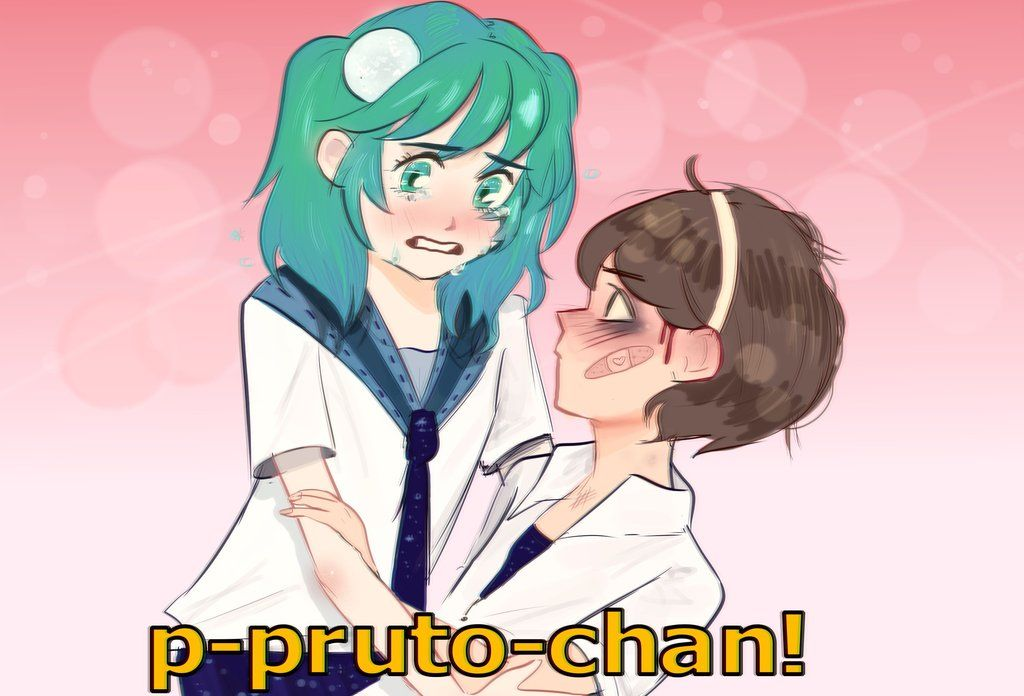Earth Chan Anime Scene Pluto X Earth By Tccp Dw Animais