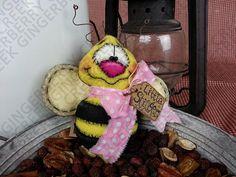 Le patrón de abeja aguijón poco 101 primitivo por GingerberryCreek