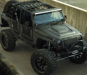 Jeep Full Metal Jacket Starwood Motors Jipe Auto Jipes