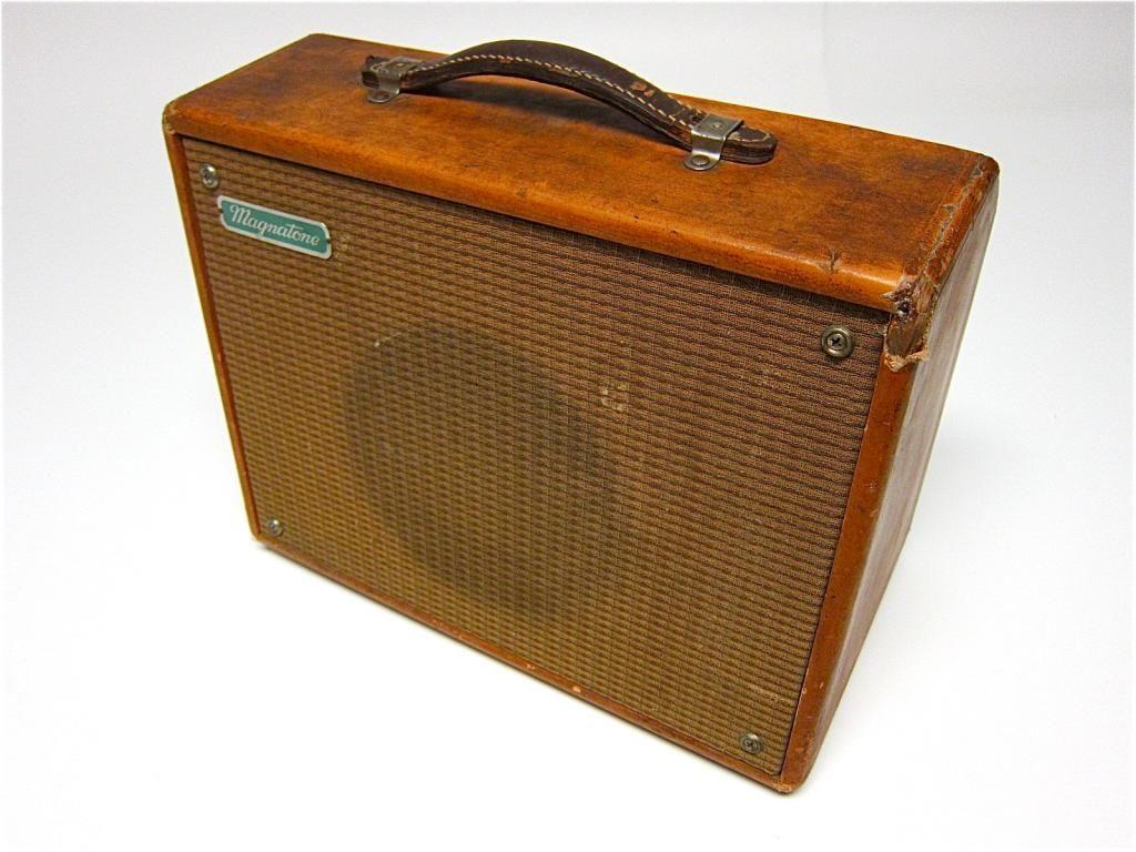 Vintage Magnatone Amps