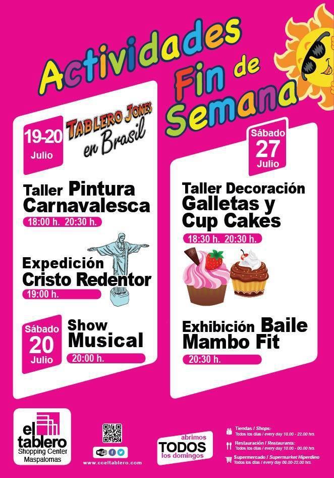Centro Comercial Santa Cruz Carrefour La Vuelta Al Cole Es Mas
