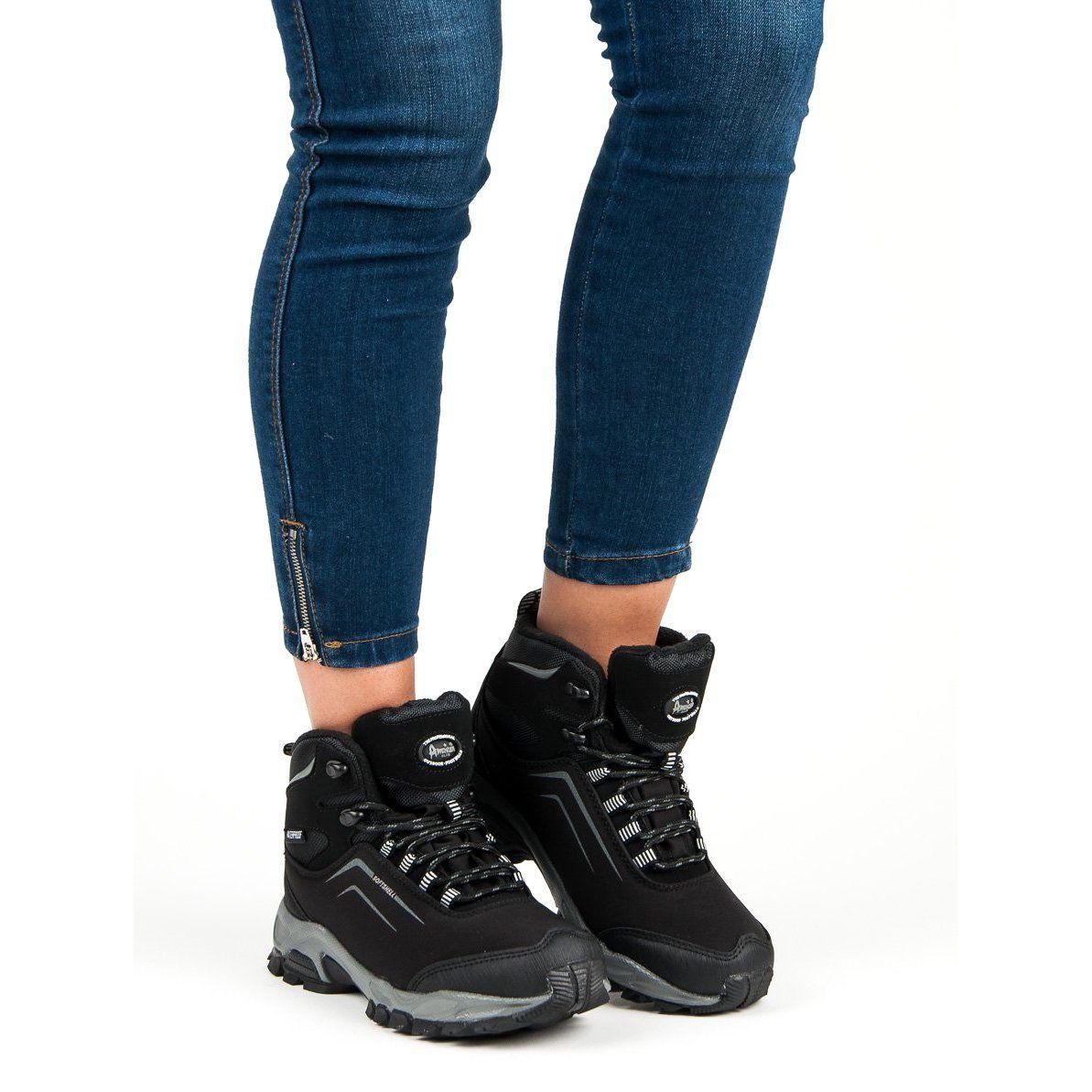 American Club Damskie Zimowe Buty American Czarne Air Max Sneakers Sneakers Nike Nike Air