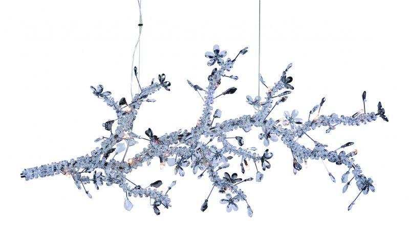 Bethel International Lighting Furniture Mirror Accessories Geometric Chandelier Chandelier Crystal Chandelier