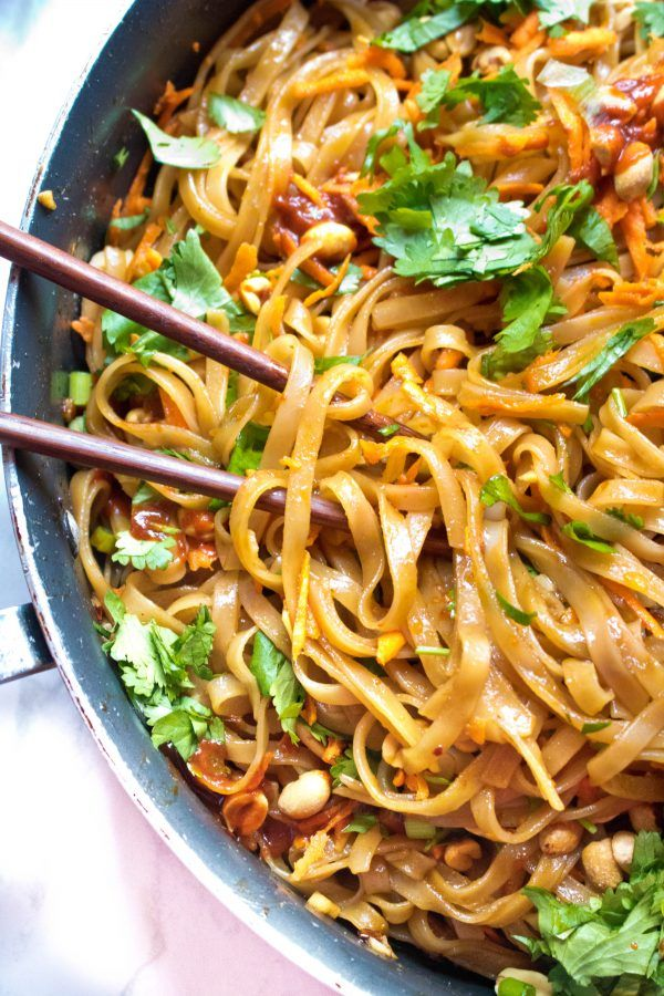 20 Minute Sweet and Spicy Noodles images