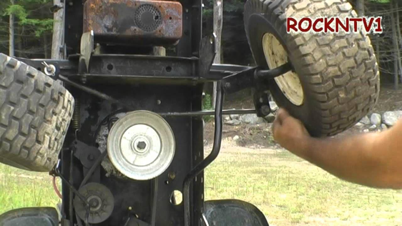 Lawn tractor head gasket repair update youtube - Garden Tractor Wheel Alignment Tractorhomemadecraftsmangardensengine Youtubelawnwheels