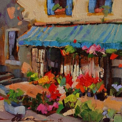 Perfezione Italiana Italian Perfection, painting by artist Dreama Tolle Perry