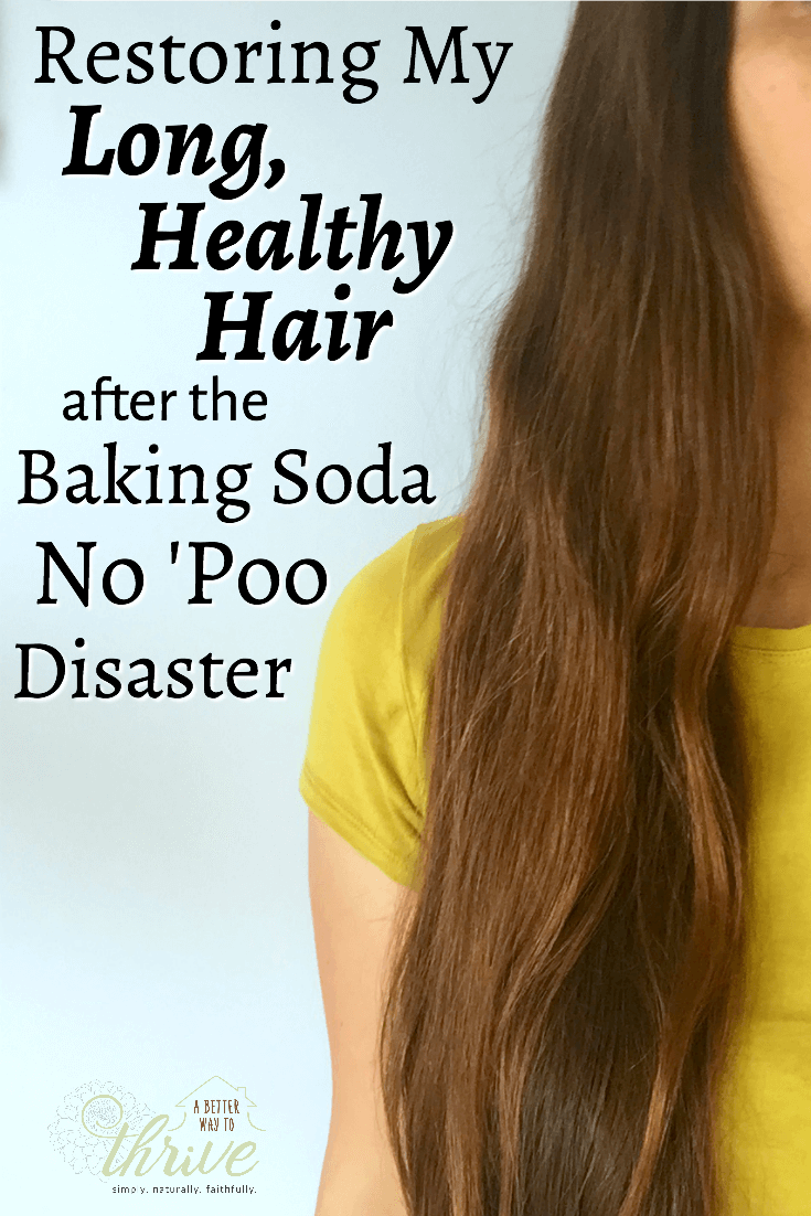 Years of baking soda no \'poo left my hair dry, brittle, damaged, and ...