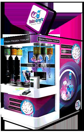 Robofusion: Interactive Robotic Kiosks  | Cafe Neu Romance: DIY Cafe