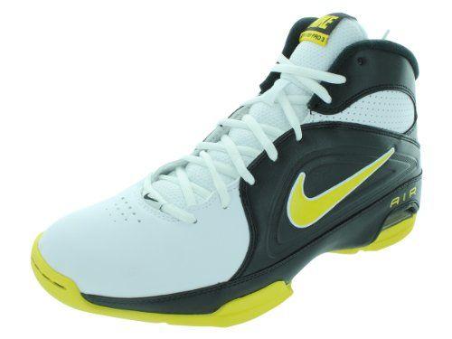 Nike Men's NIKE AIR VISI PRO III BASKETBALL SHOES 9 Men US (WHITE/TOUR