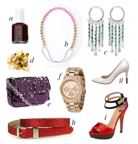 The holidays are all about a little glitz and glam! These are the WH staff favorite accessories