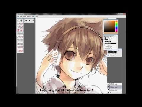RMD tutorial - Anime / Manga Drawing Coloring Tutorial 【KHR ...