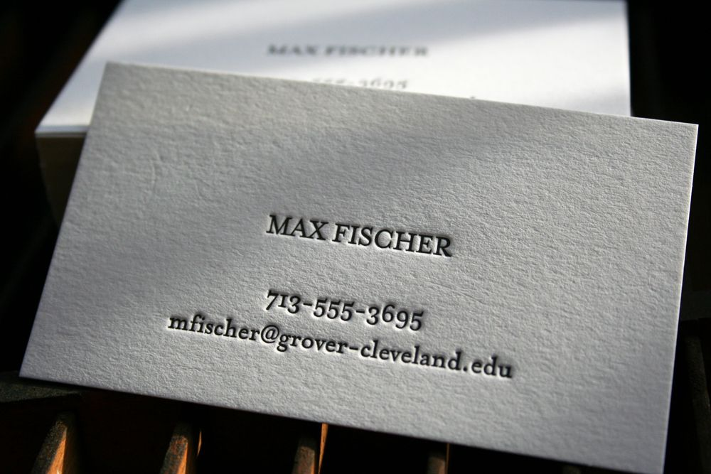 Vintage Letterpress Business Cards - Google Search | Business