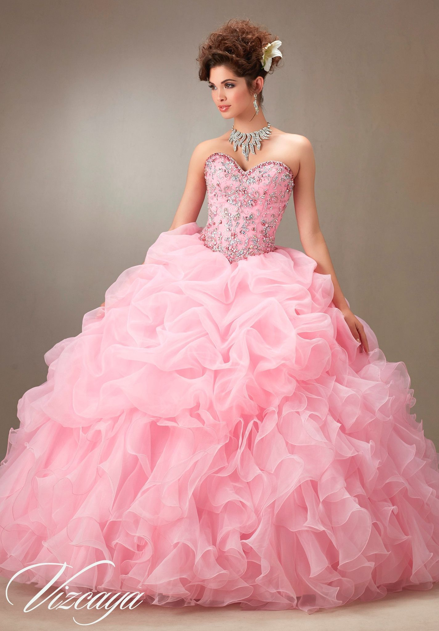 Mori Lee Quinceanera Dress 89075 | Pinterest | Vestido de quince ...
