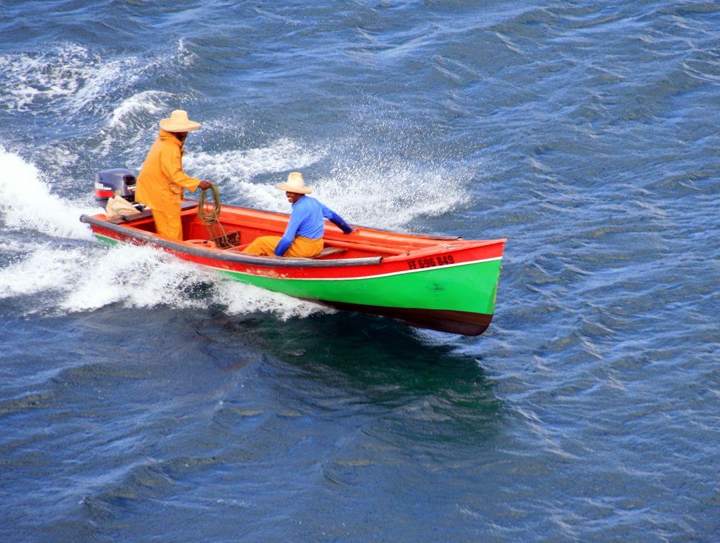 bateau de peche martinique