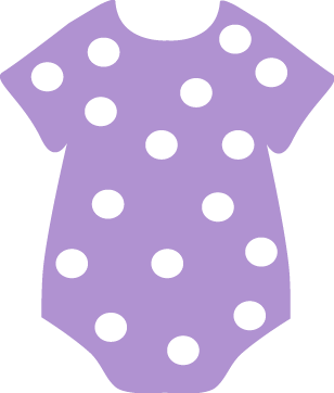 polka dot onesie clip art baby shower pinterest onesie clip rh pinterest ie baby shower clipart for invitations baby shower clipart for invitations