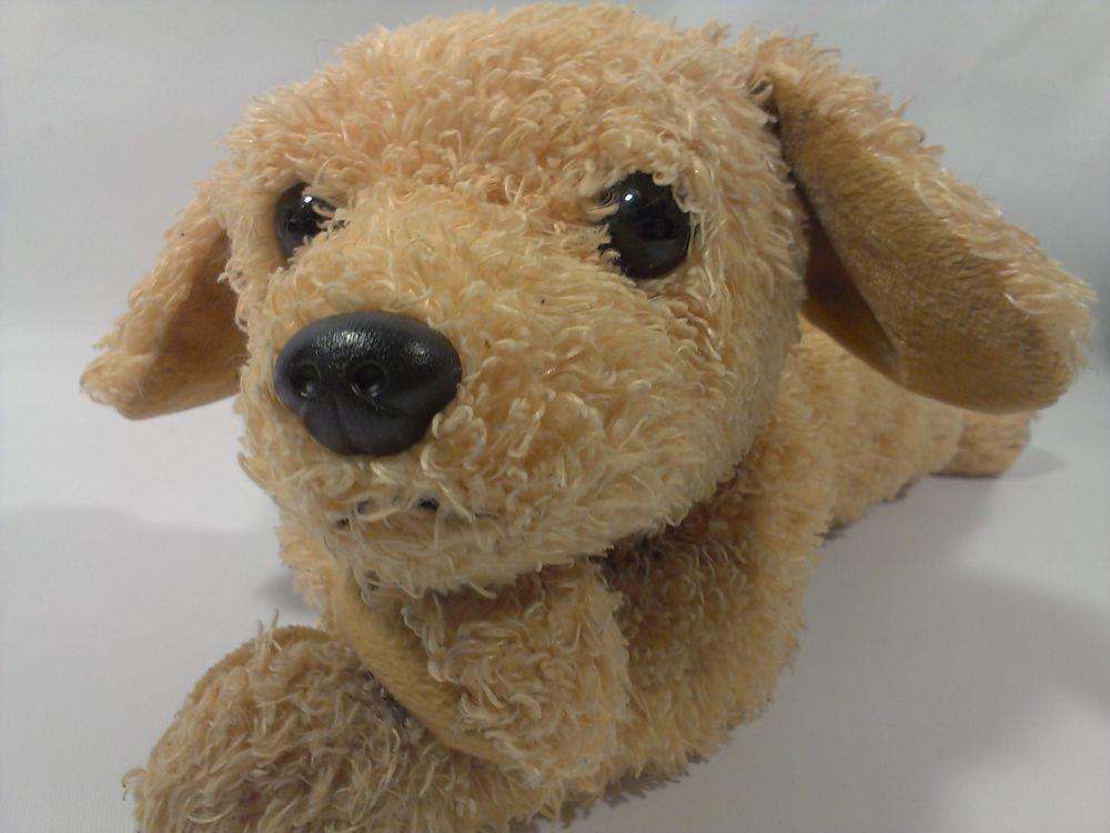 Ty Golden Retriever Puppy Dog Plush Beanie Buddies 2002 Floppy