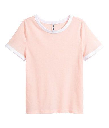 Pe H Rosa Amp;m Corta Camiseta Mujer Empolvado Cwcatq oQrdBCxeW