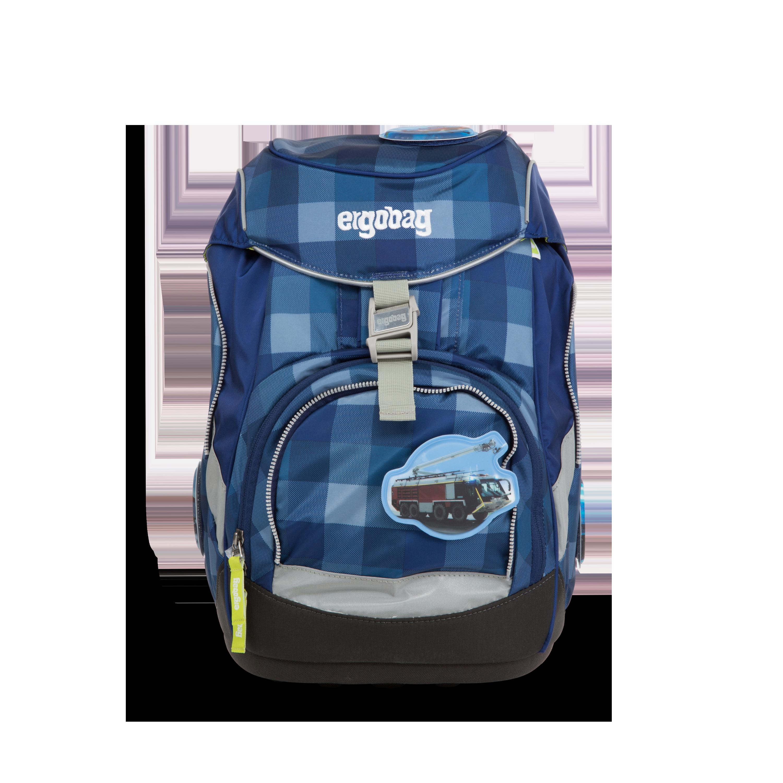 fd36d3b820ec9 Mit Tatütata und Blaulicht als Erster am Ziel  der ergobag pack mit  Feuerwehr-Kletties ist ein sicherer Begleiter für alle Kinder von der 1.-4.