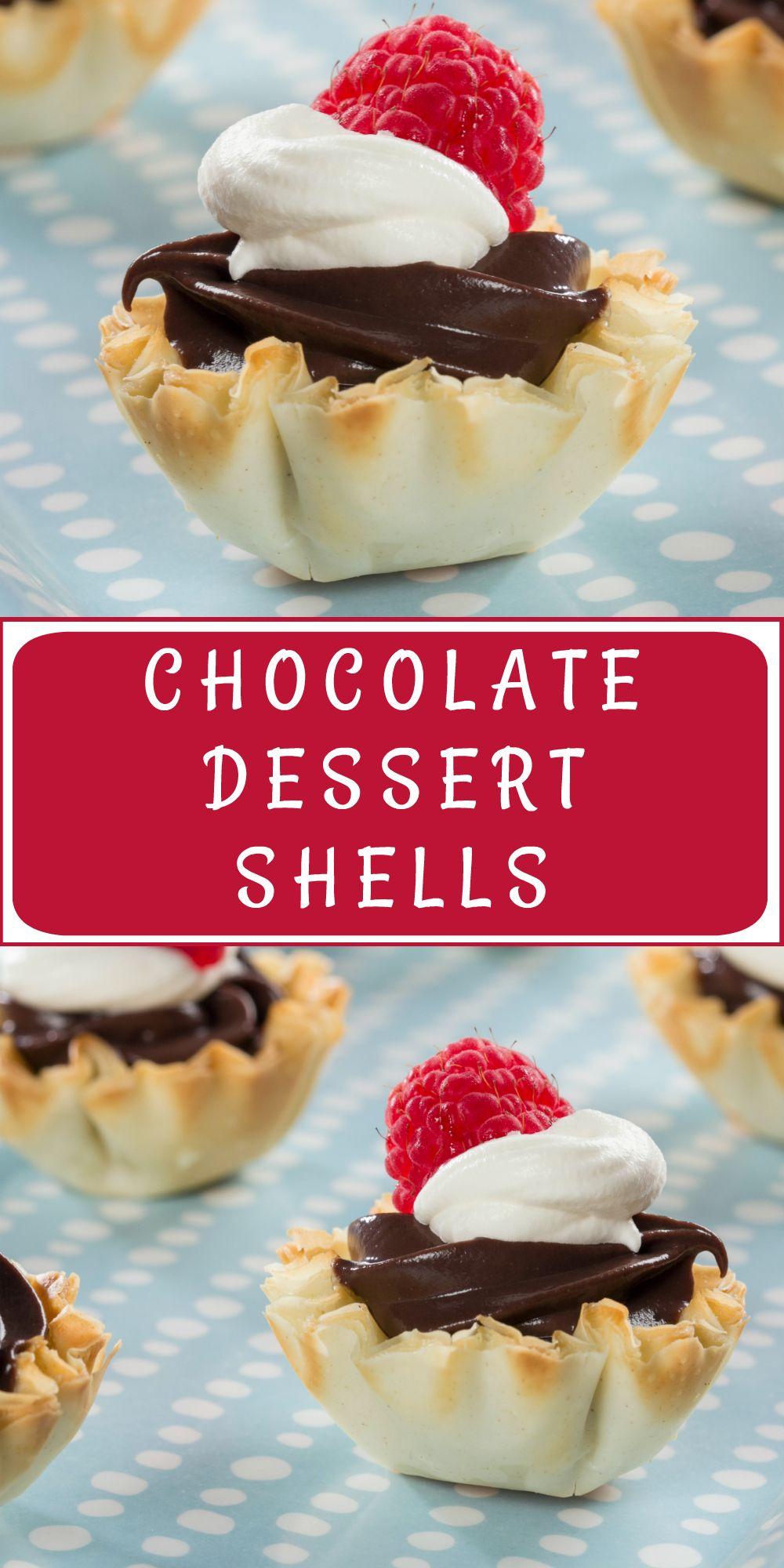 Chocolate Dessert Shells Make The Perfect Diabetic Friendly
