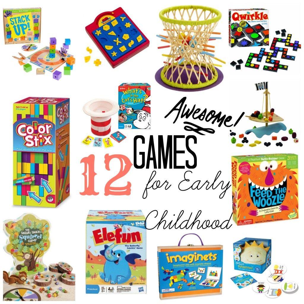 12 Fun Educational Games for Early Childhood Fun