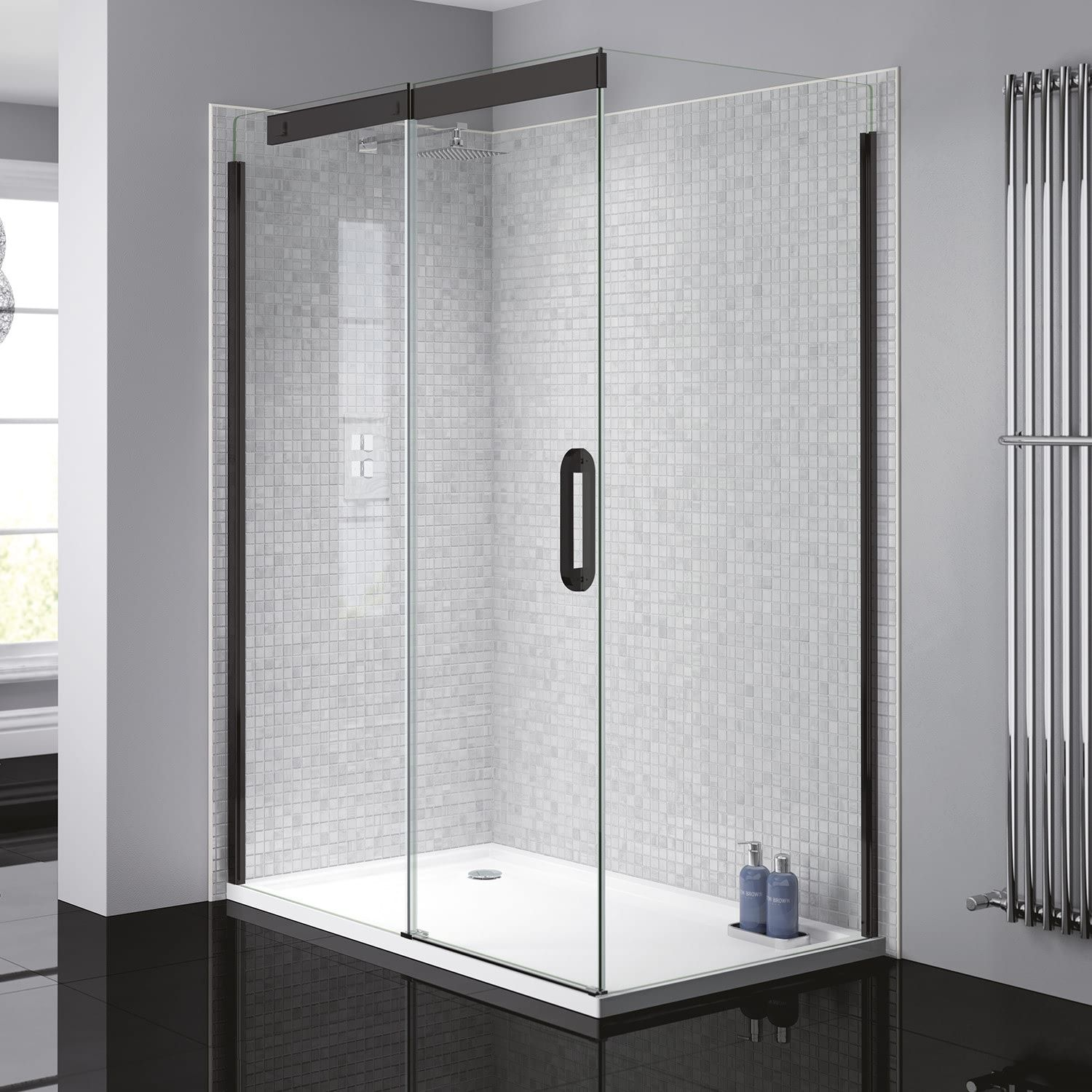 Verona Prestige2 Sliding Shower Enclosure 1400mm X 900mm With
