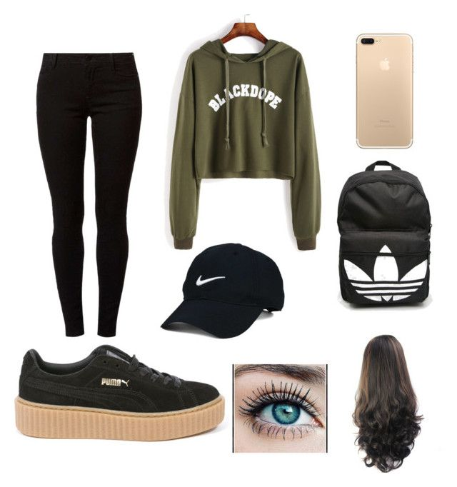 """""""Untitled #4"""" by lunabaldner-1 ❤ liked on Polyvore featuring beauty, Dorothy Perkins, Puma, Nike Golf and adidas"""