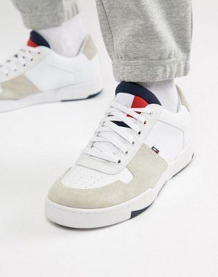 c95373aa00f5b Image 1 of Tommy Jeans basket sneaker in white