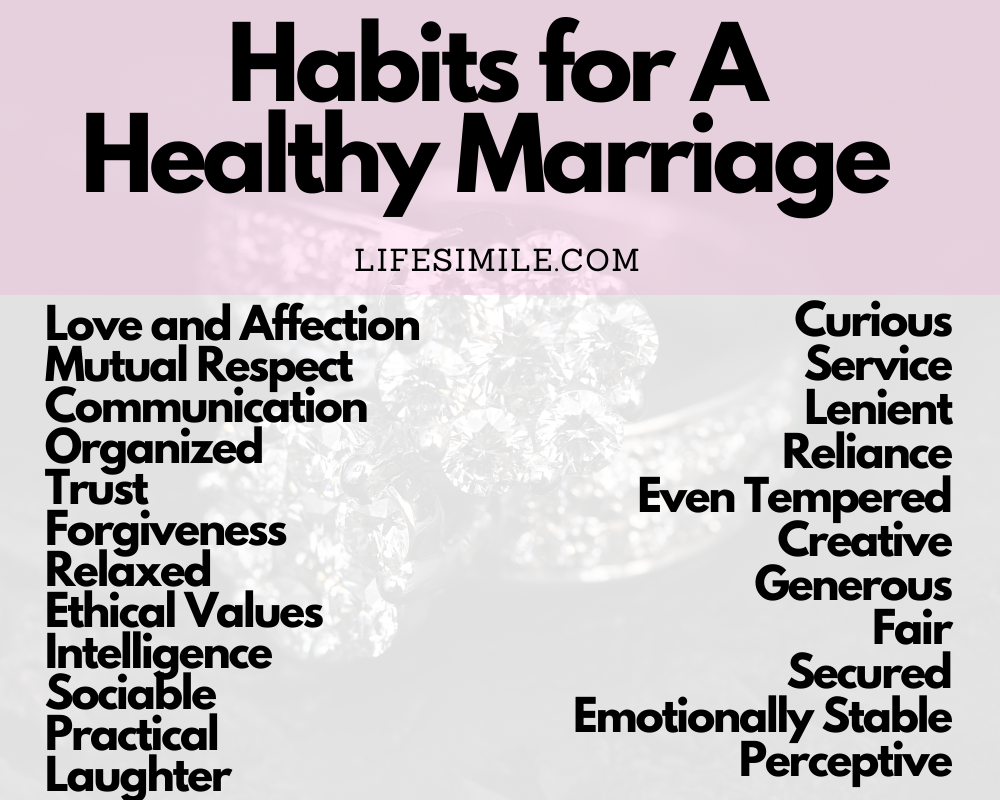 habits of a healthy marriage habits for a healthy marriage