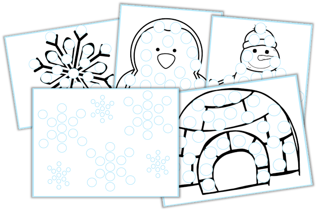Kickstart your January! (FREEBIES and GIVEAWAY) Click here to print these fine motor mats!!