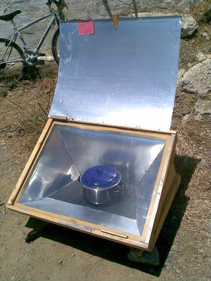 Horno solar de Ilde en Con  Horno  Pinterest  Cocina solar Sol y Cocinas