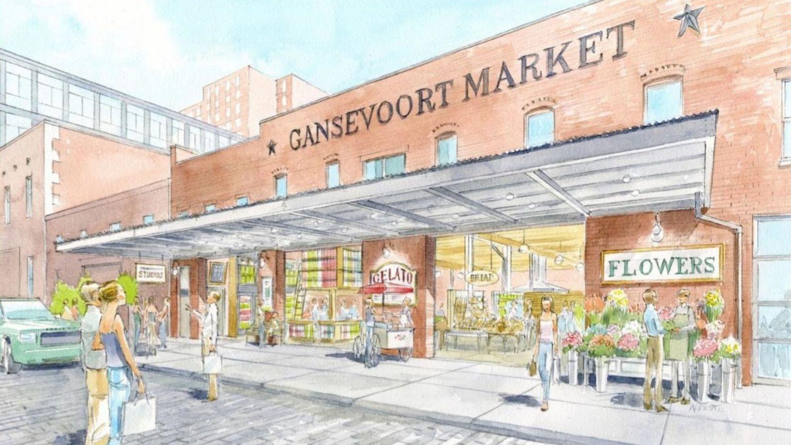 Gansevoort Market Gansevoort Market  New Wave Market  Pinterest
