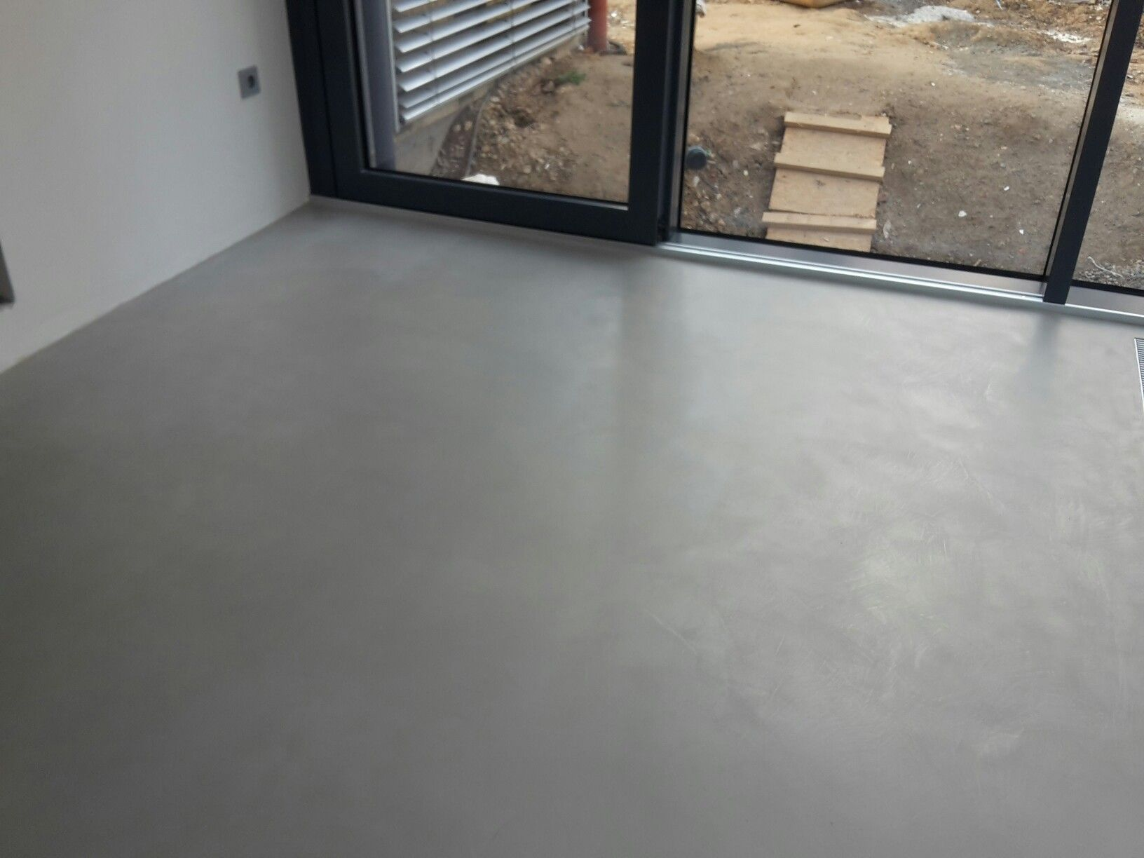 Beton Cire Fugenose Beschichtung Fugenloser Boden Badgestaltung Betonboden