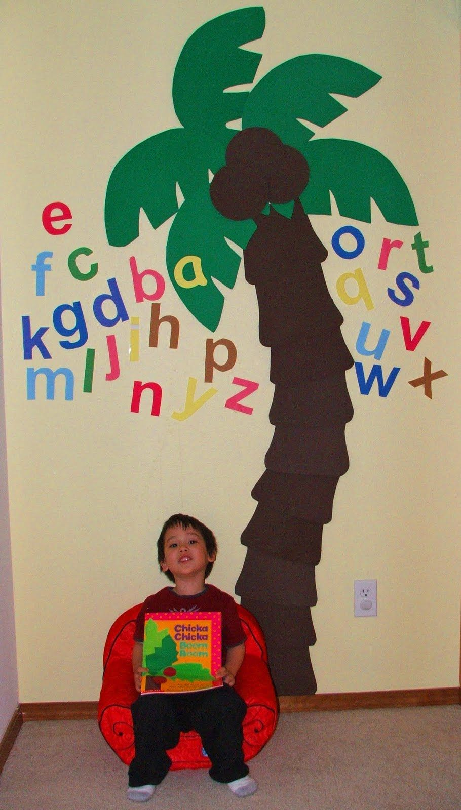 Chicka Chicka Boom Boom Tree | Education ideas for kids ... - photo#32