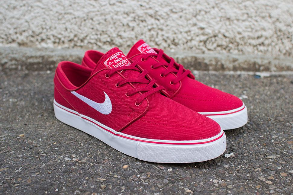 new concept dab56 fd13c Nike SB Zoom Stefan Janoski  Varsity Red  - EU Kicks  Sneaker Magazine