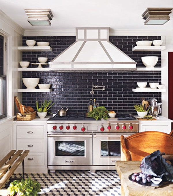 6 Tips To Choose The Perfect Kitchen Tile Black Subway