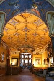 Incredible Ceilings Hohenzollern Castle Germany Hohenzollern Castle Castles Interior Castle Rooms