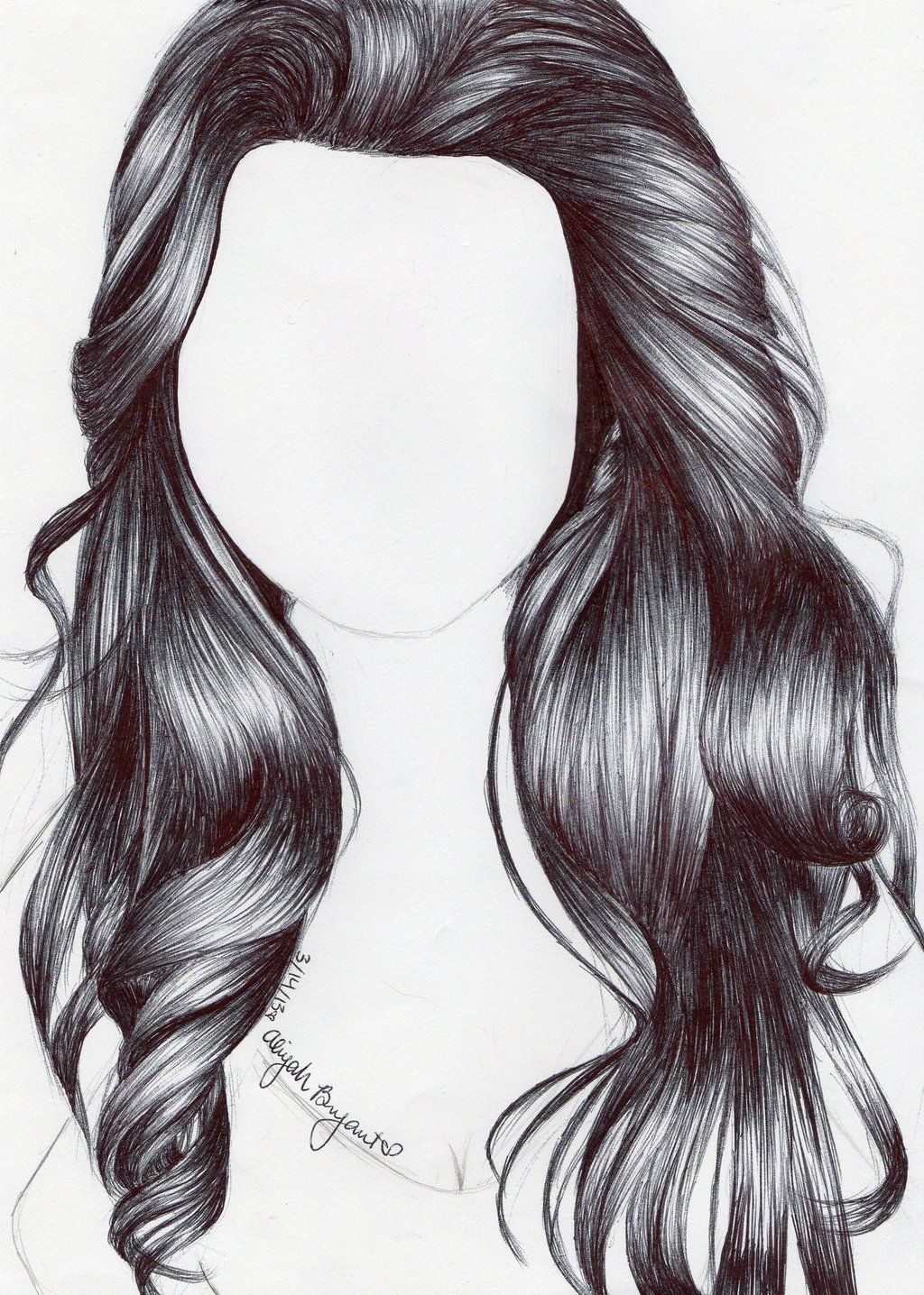 Hair Pencil Drawing Www Imgkid The Image Kid Has It How To Draw Hair Realistic Hair Drawing Pencil Drawings