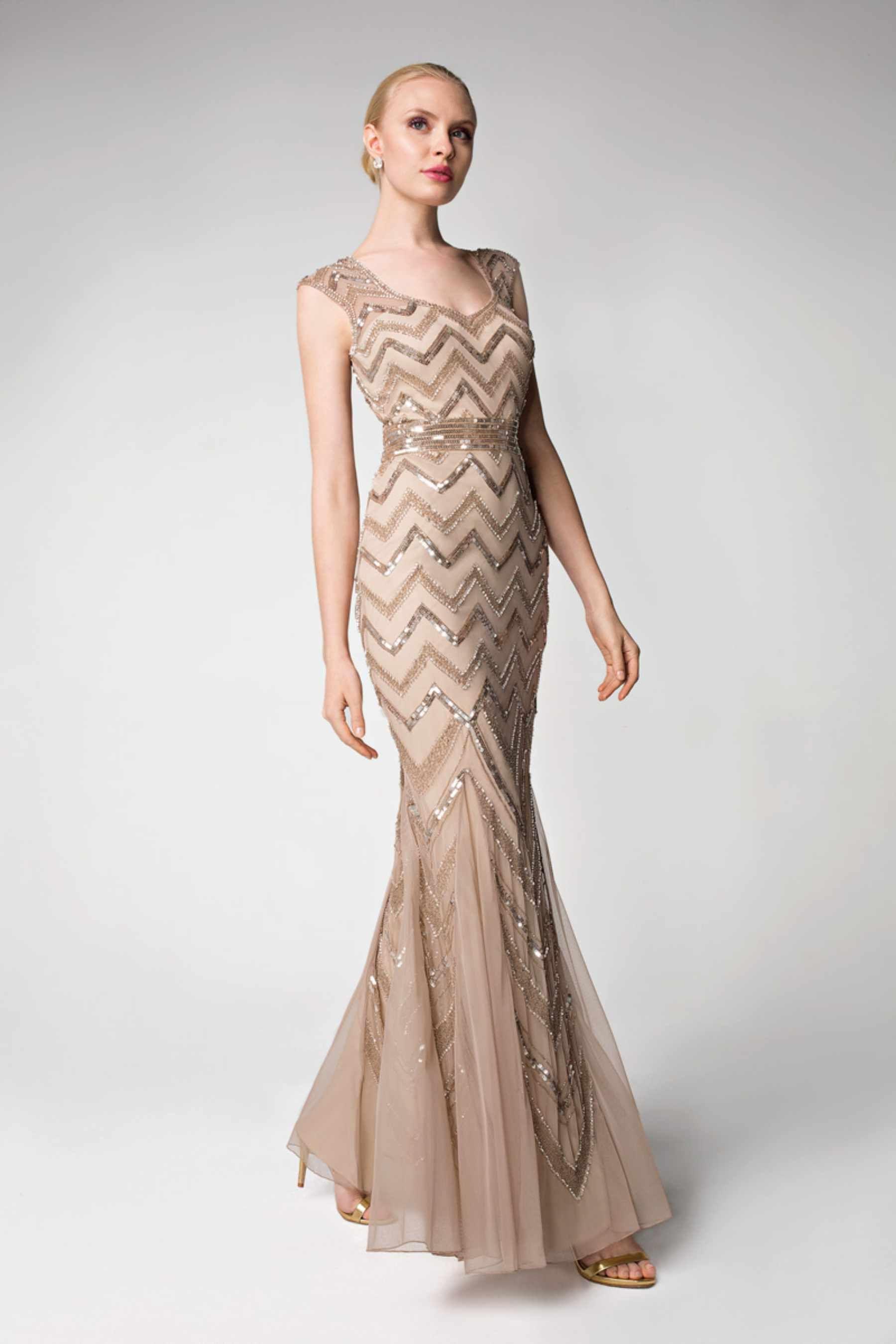 Demetrios Evening Dress Style D150 | Dress info: Pewter colour, with ...