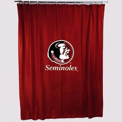 Ncaa Florida State Shower Curtain Fsu Basketball Duke