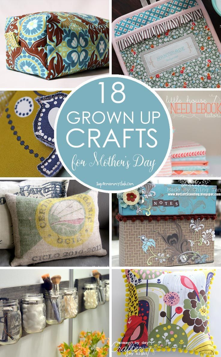18 mother's day crafts for grown-ups | craft cool | pinterest