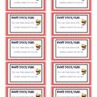 Photo of Coupons for classroom privileges